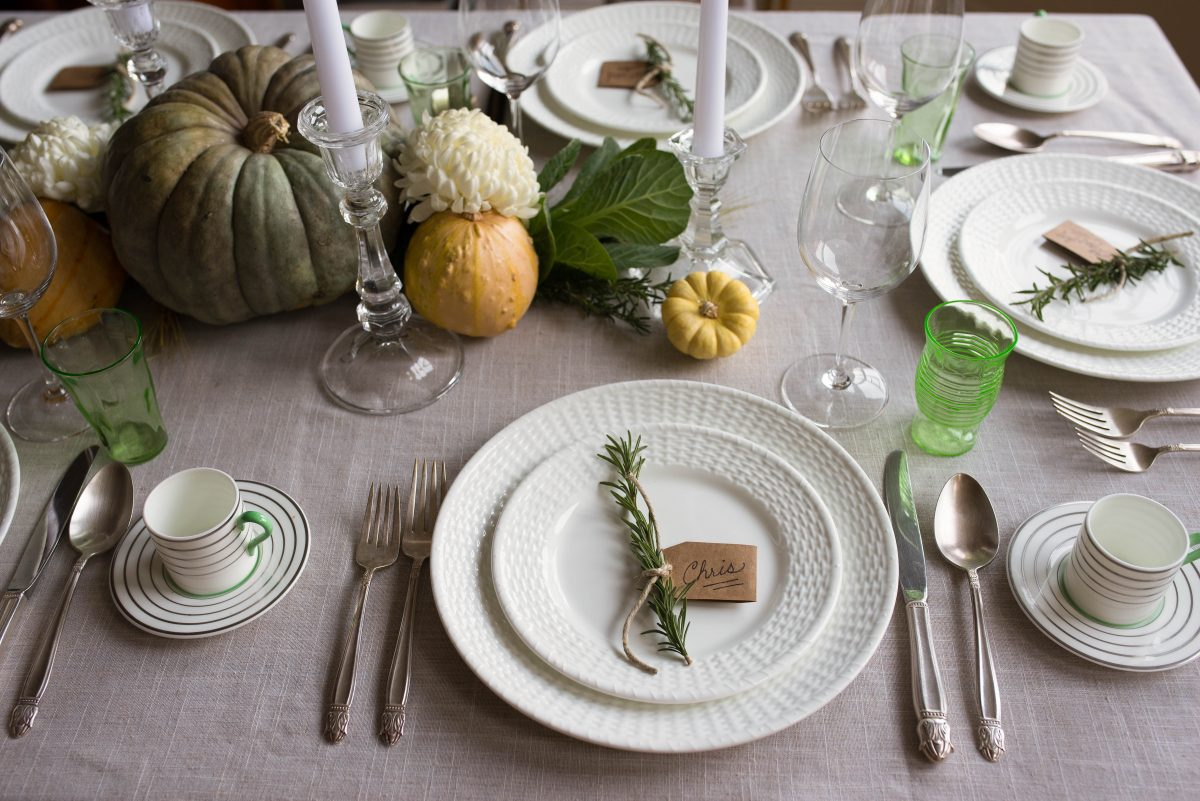 Styling a Thanksgiving Table