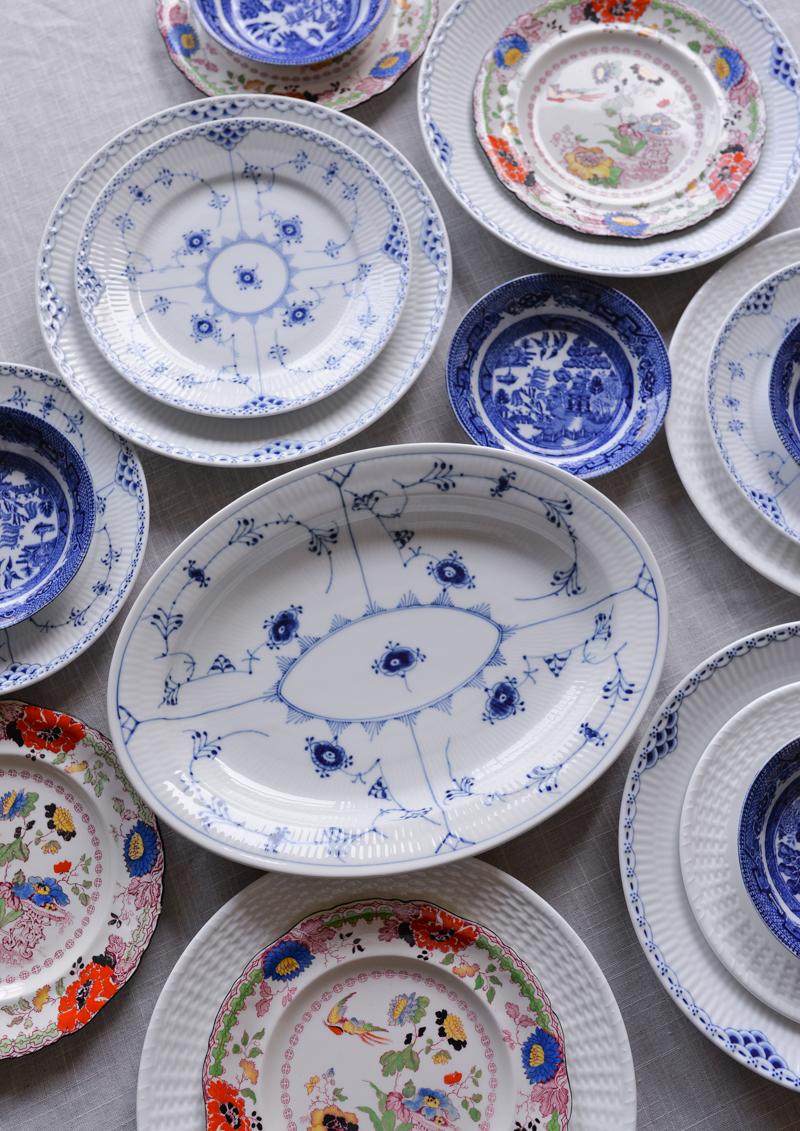 vintage china royal copenhagen blue and white 9 ... & Vintage China - STACIE FLINNER