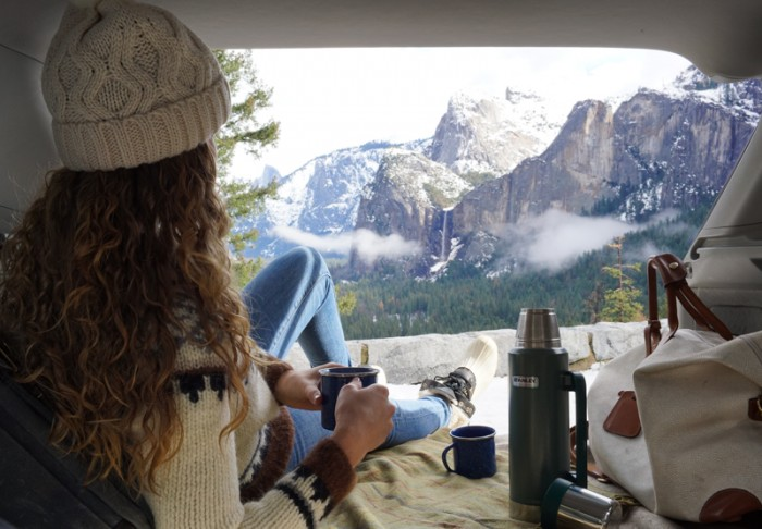 Snow Day in Yosemite