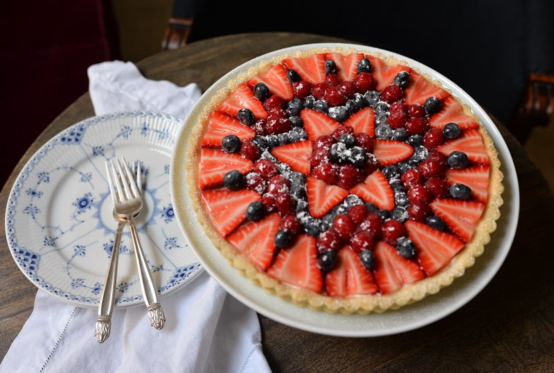 Easy Fruit Tart -1