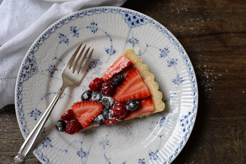 Easy Fruit Tart -5