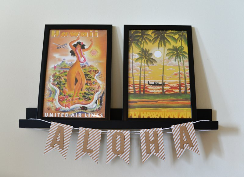 Elegant Tropical Hawaiian Birthday Party -11