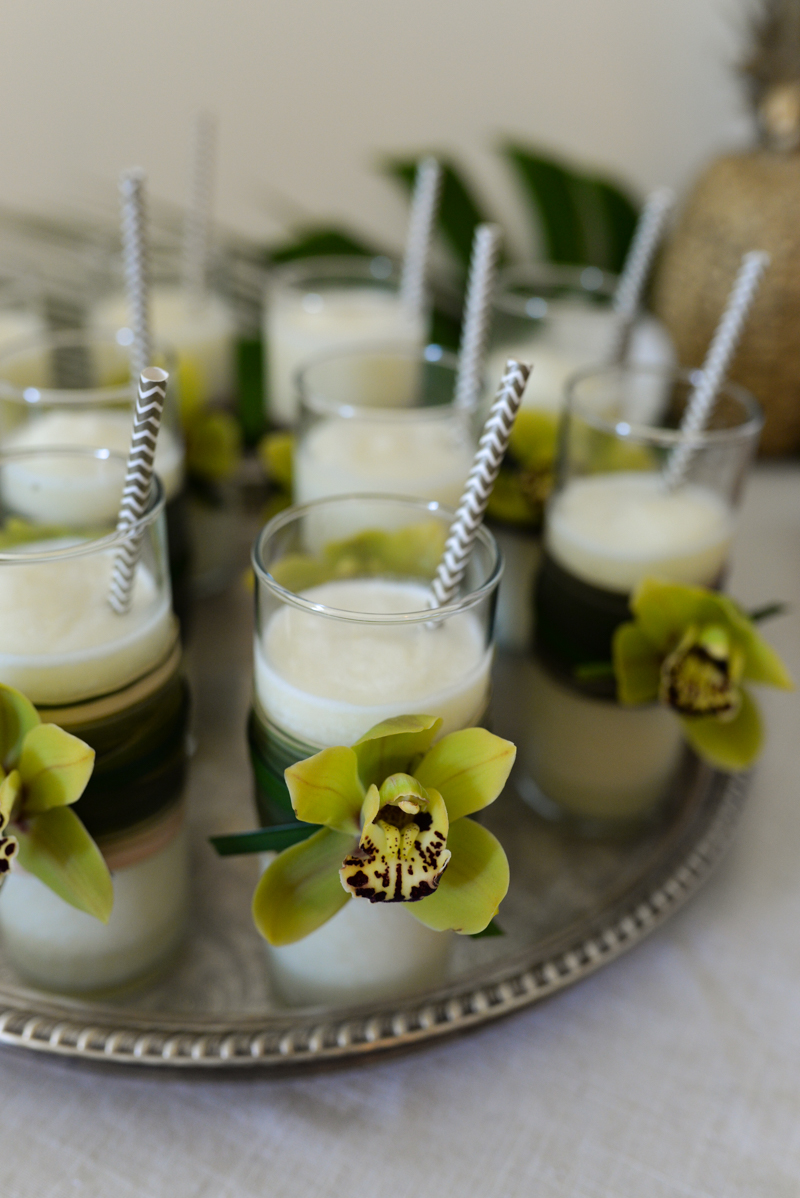 Elegant Tropical Hawaiian Birthday Party -16