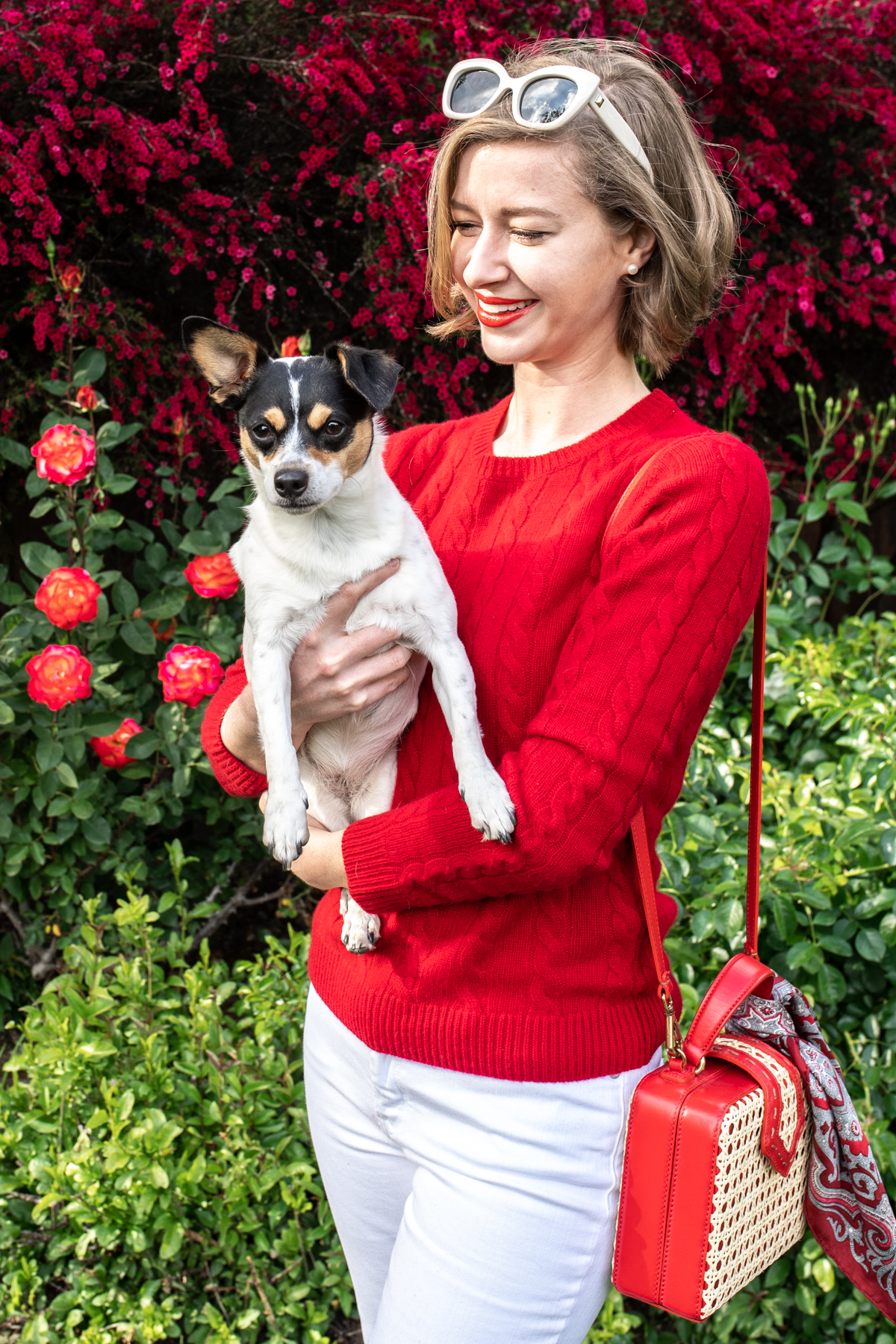 Red Fleece x Stacie Flinner Cashmere Sweater-2