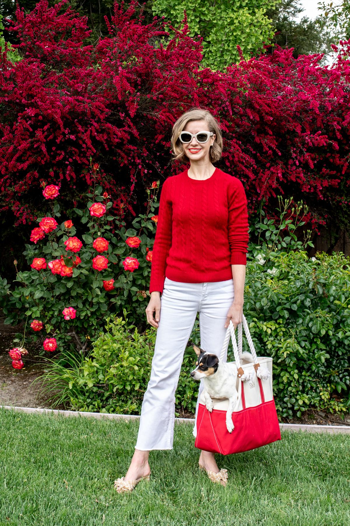 Red Fleece x Stacie Flinner Cashmere Sweater-3