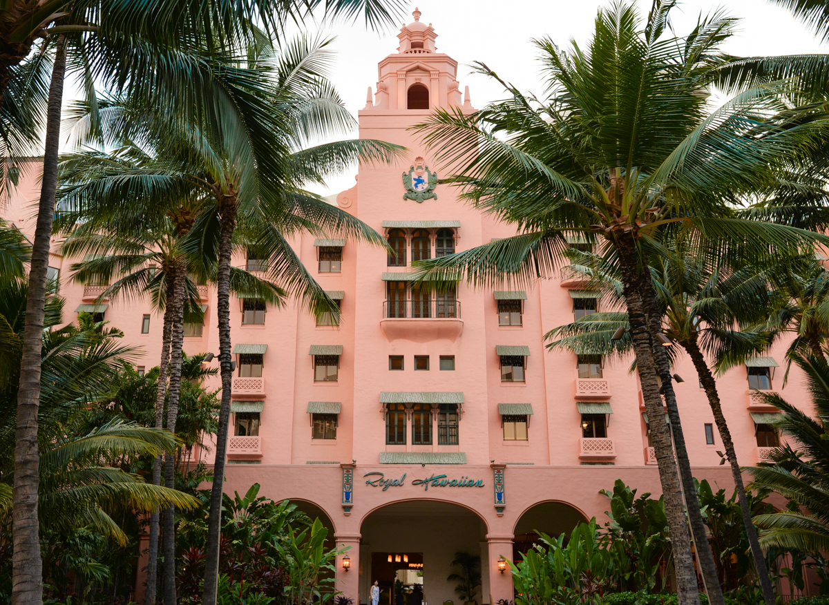 The Royal Hawaiian Oahu Hotel-8