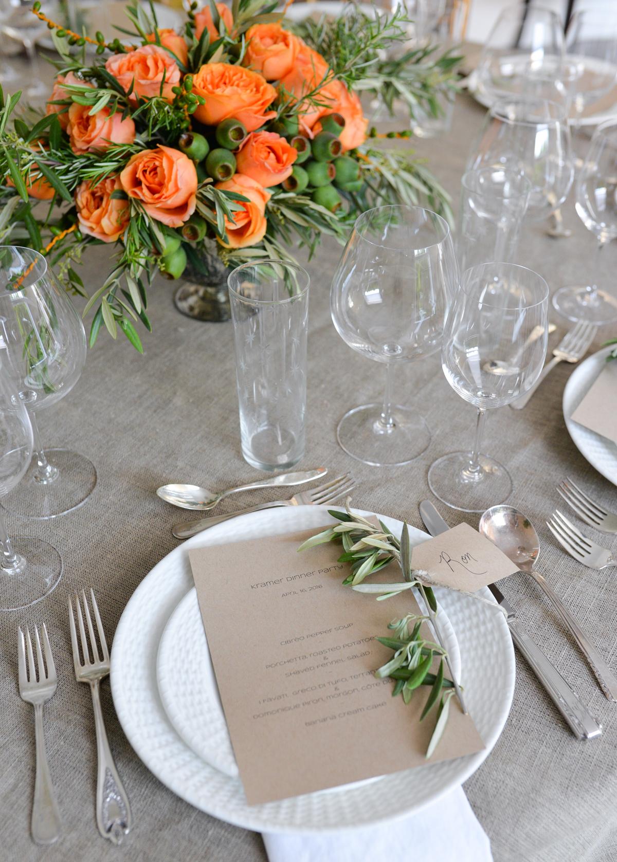 italian dinner party stacie flinner