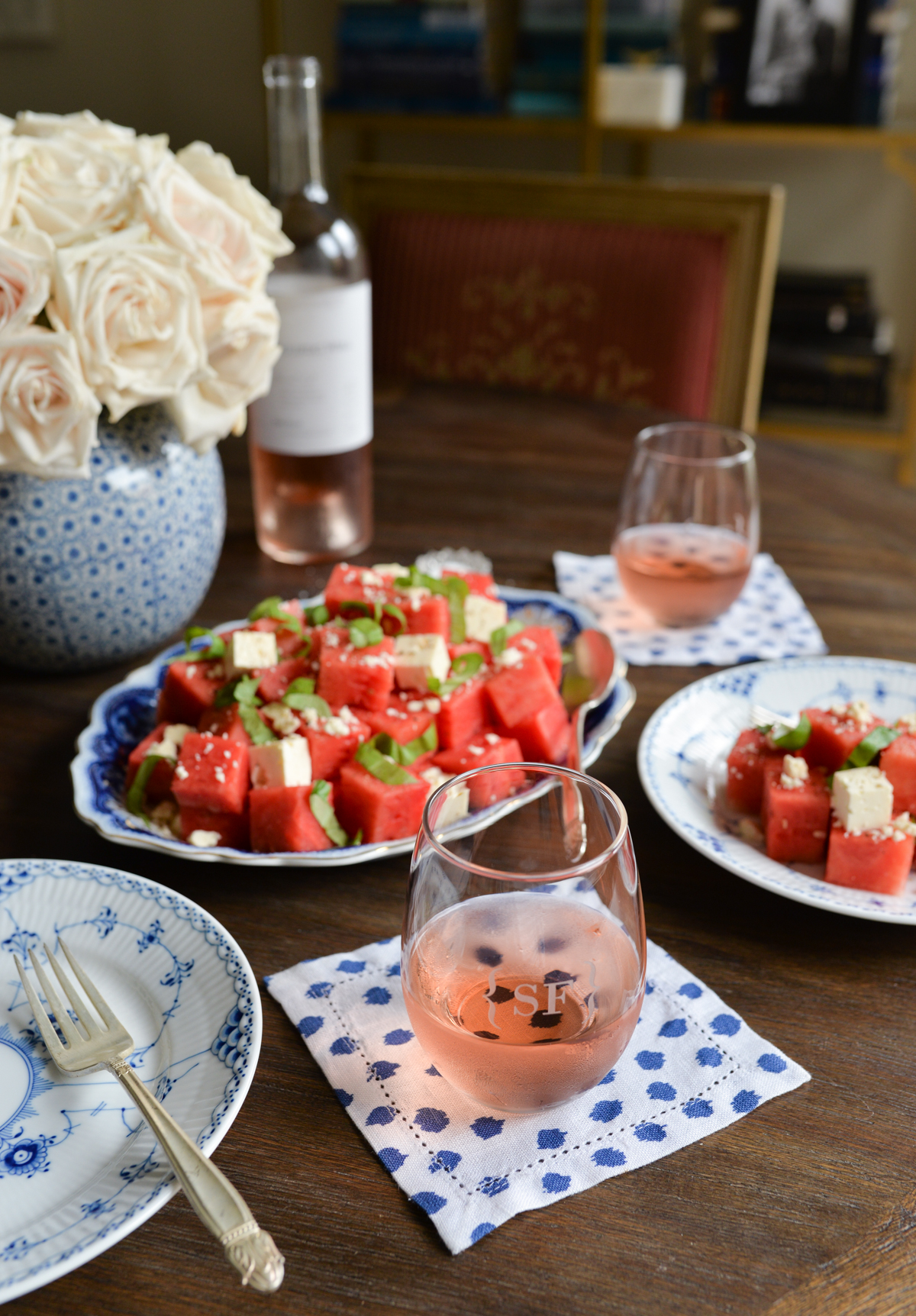 Watermelon Feta Salad Recipe -7