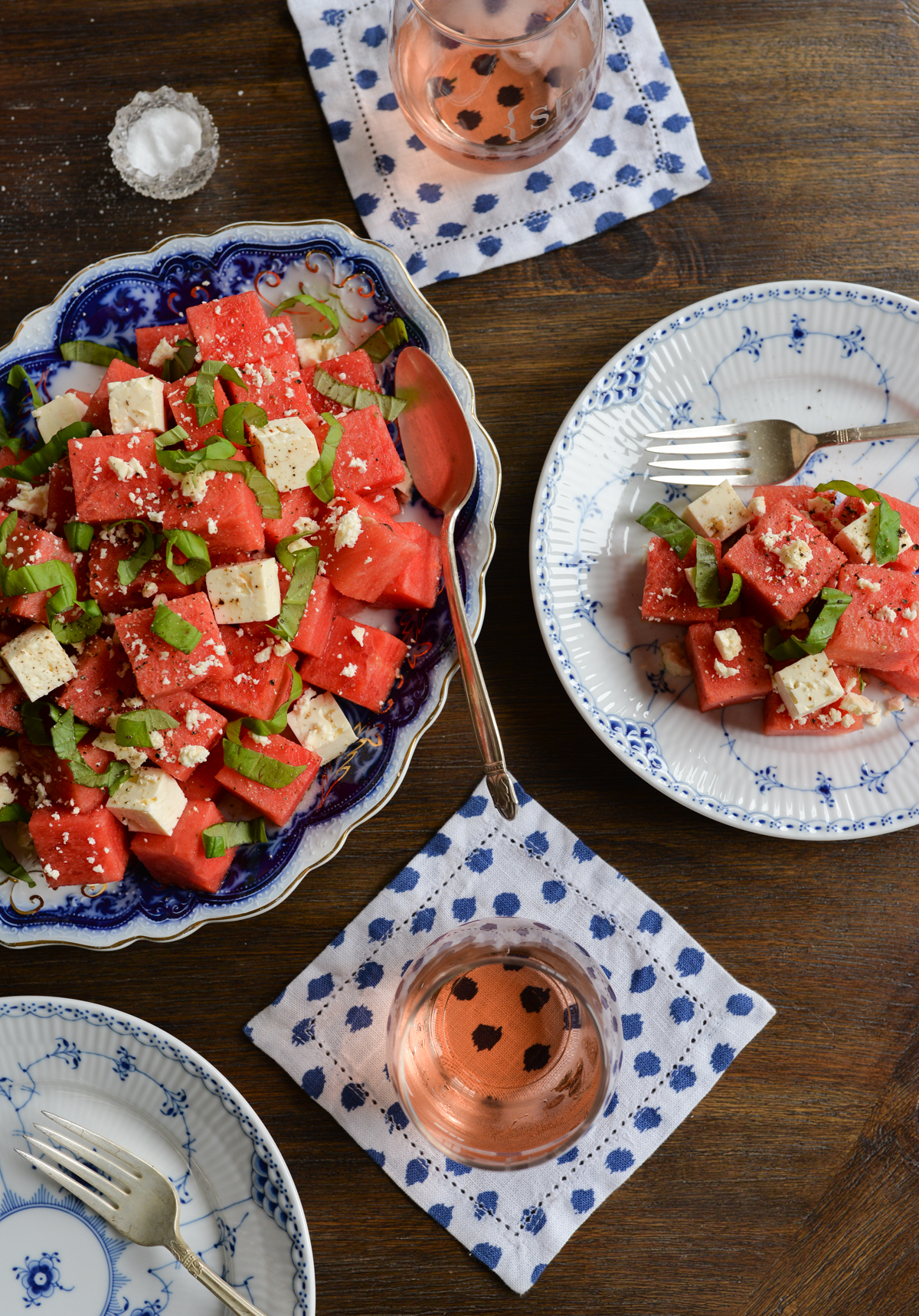 Watermelon Feta Salad Recipe -8