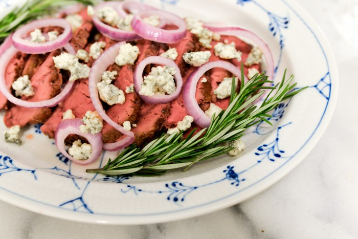 Beef Tenderloin with Pickled Onions