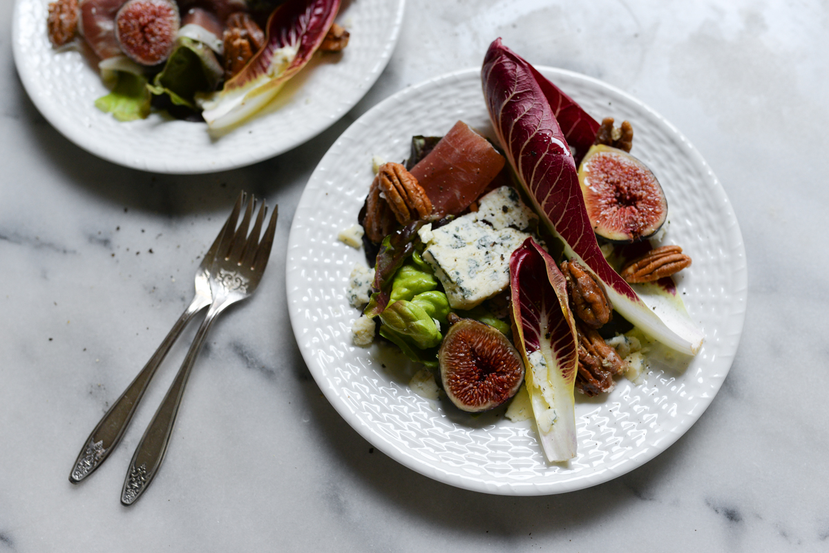 Fig Prosciutto Blue cheese  Salad recipe