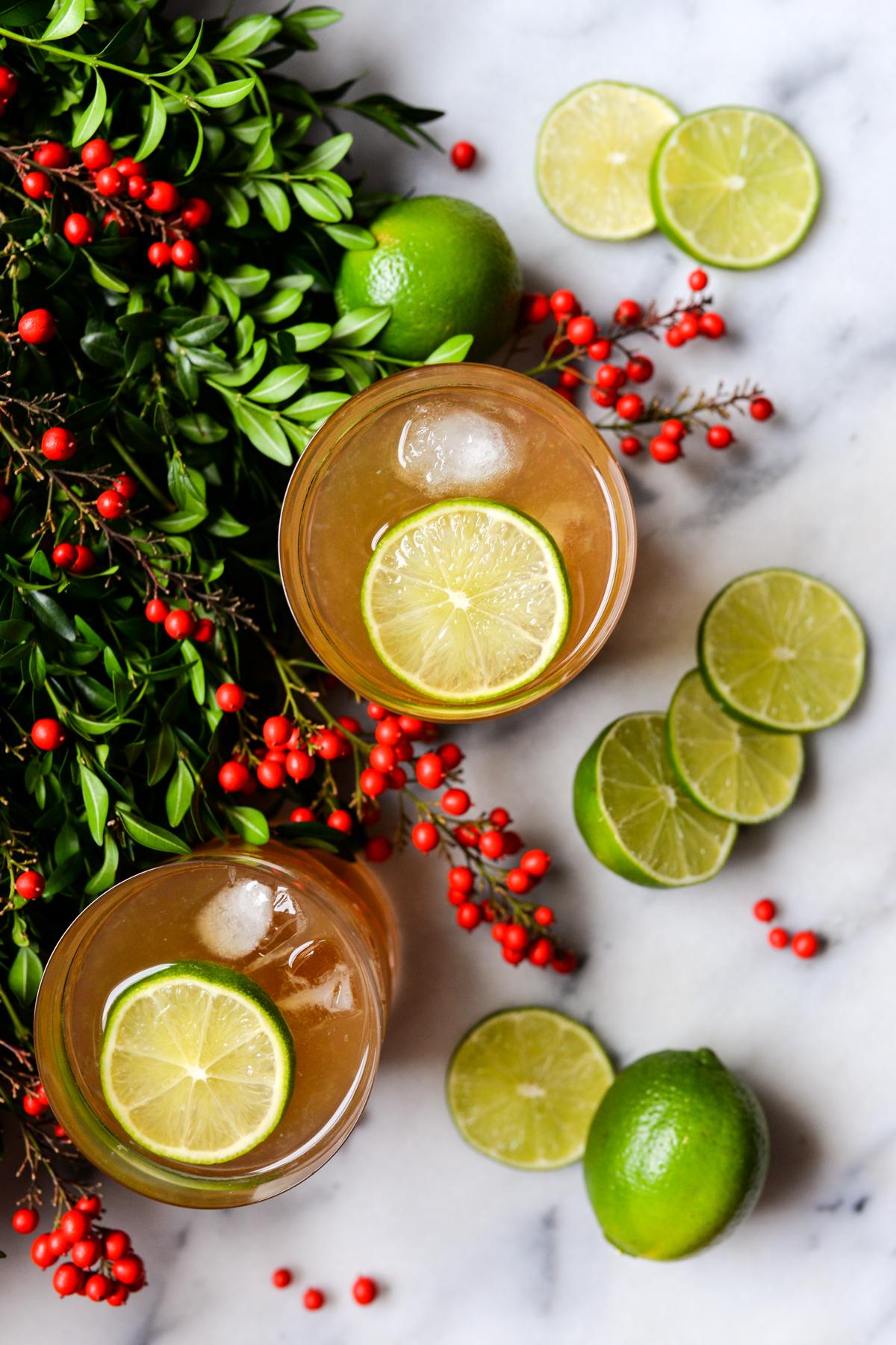 Bourbon Ginger Cocktail Recipe