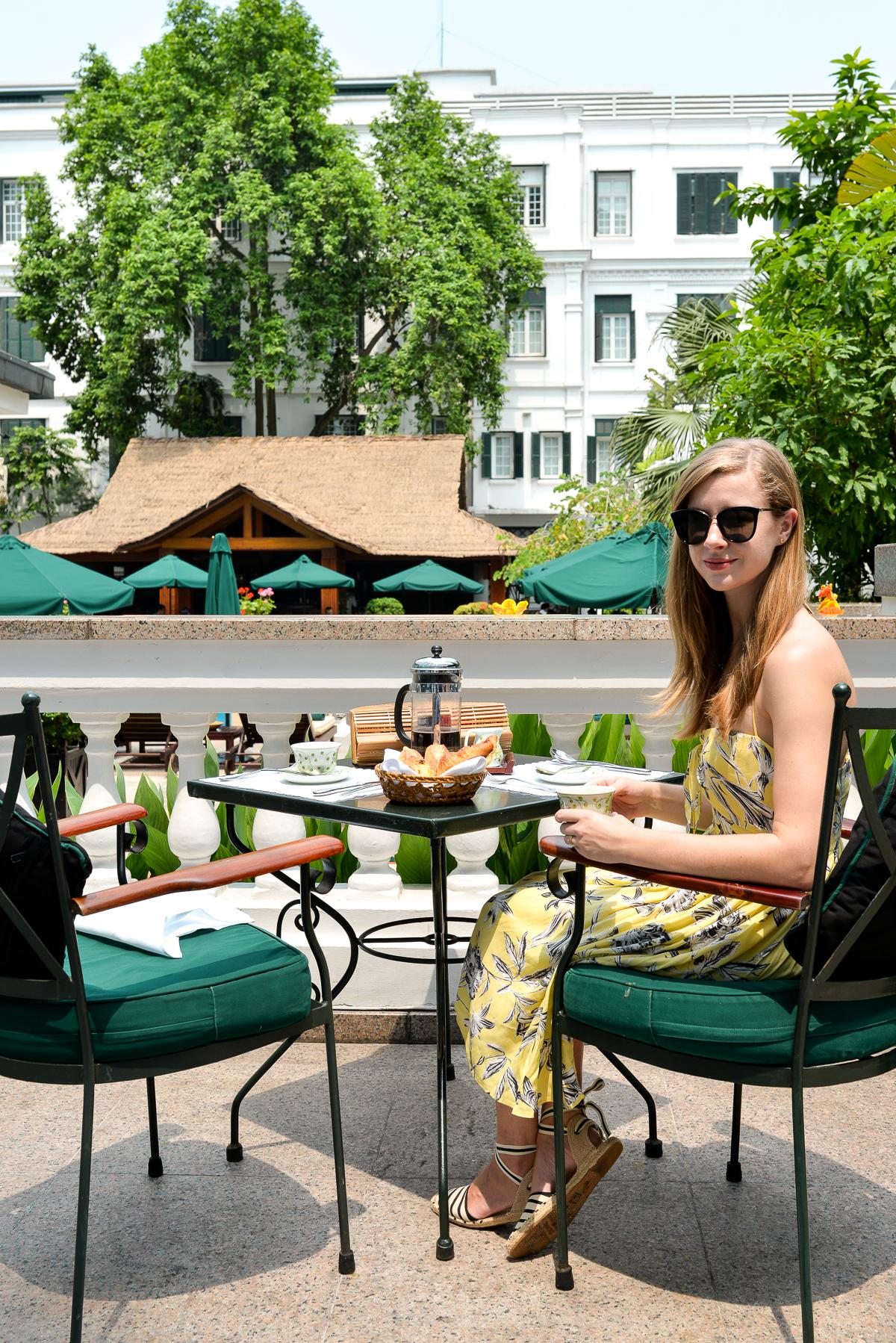 Stacie Flinner Sofitel Metropole Hanoi Breakfast-2
