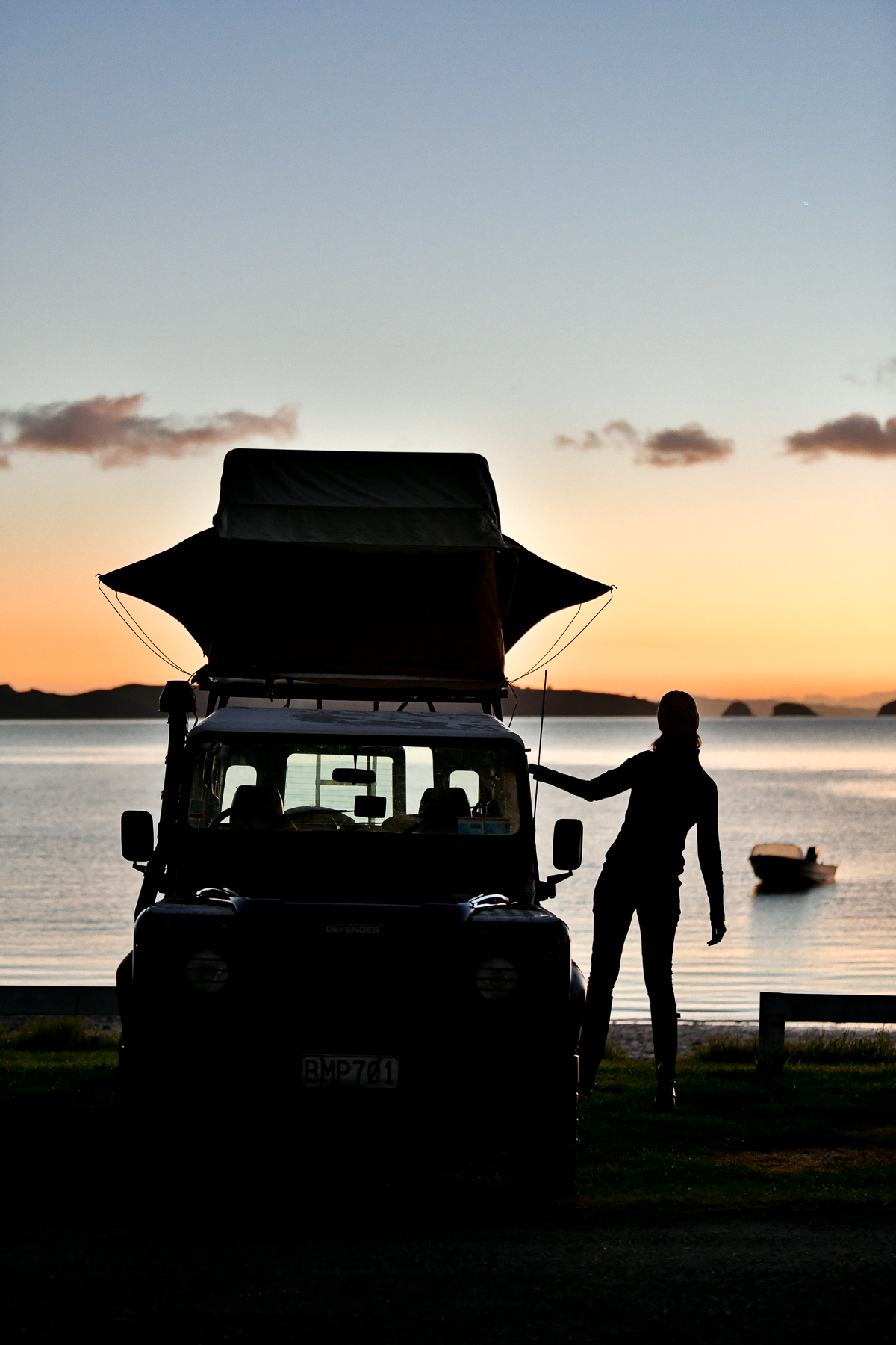 New Zealand Road Trip in a Land Rover Defender