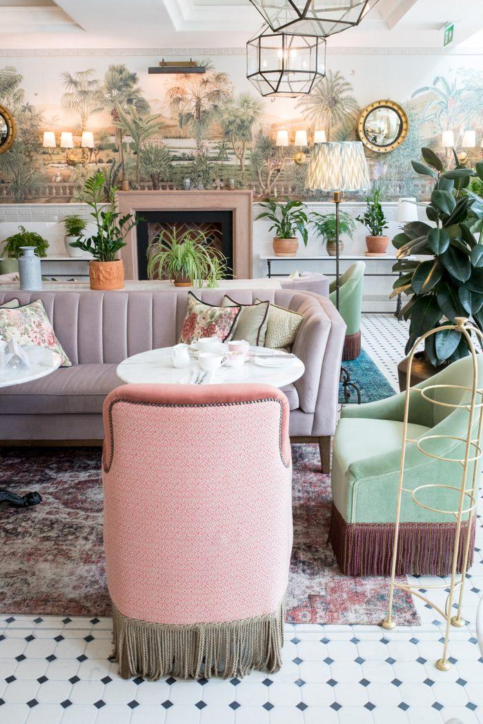 Interiors I Love: Afternoon Tea at The Tamburlaine Hotel in Cambridge