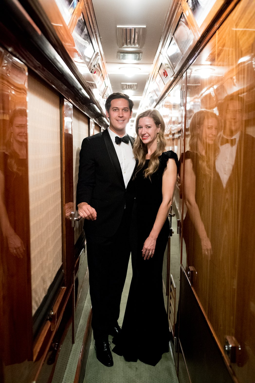 Stacie Flinner Black Tie Dress Code Venice Simplon-Orient-Express-1