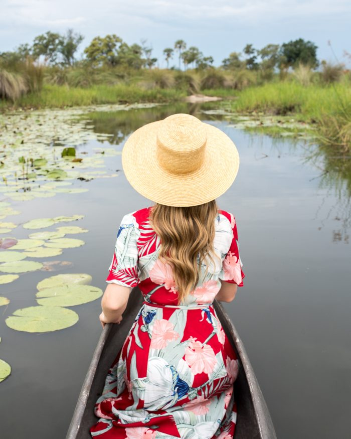 Exploring the Okavango Delta at Baines' Camp