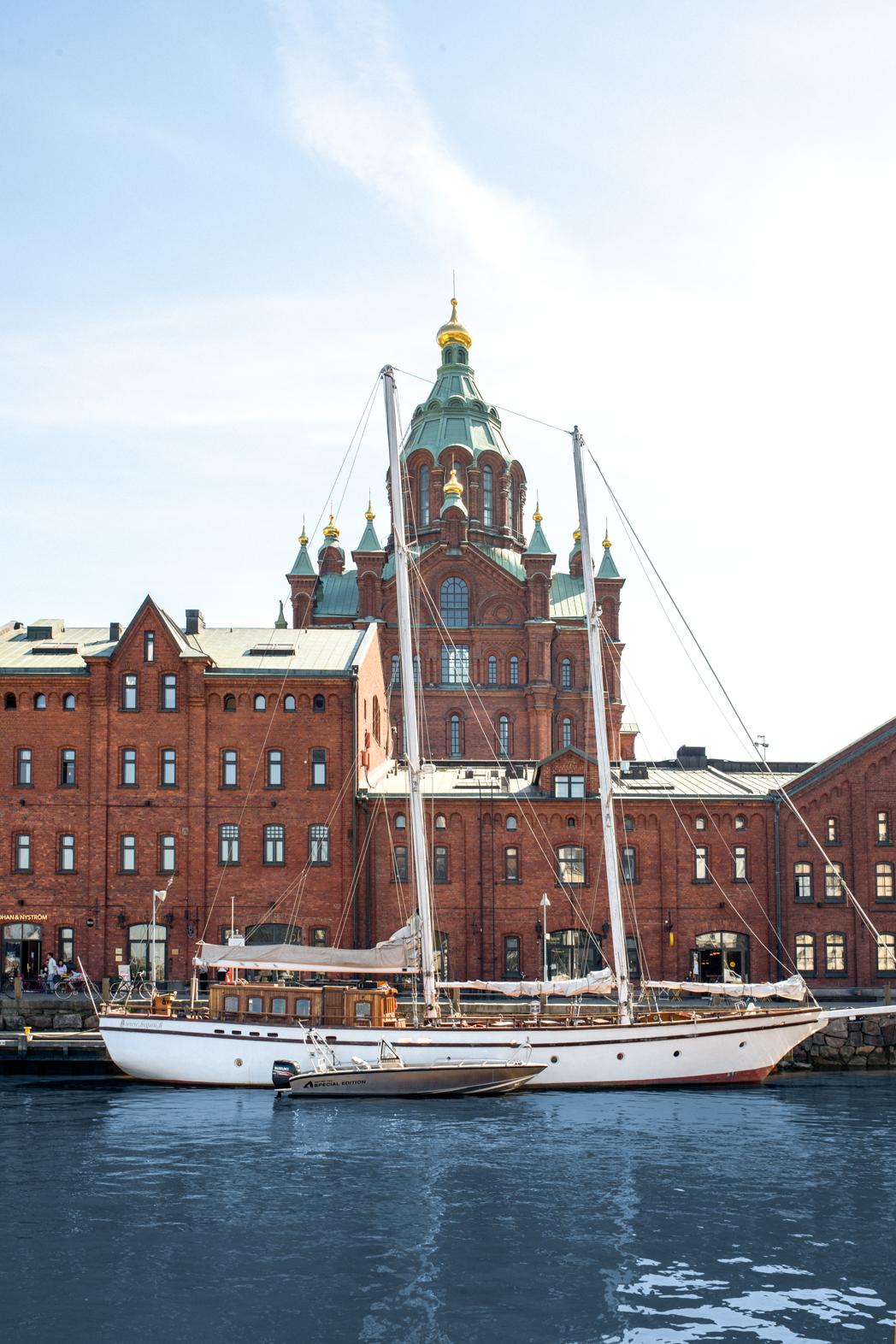 Stacie Flinner Helsinki Boat-1