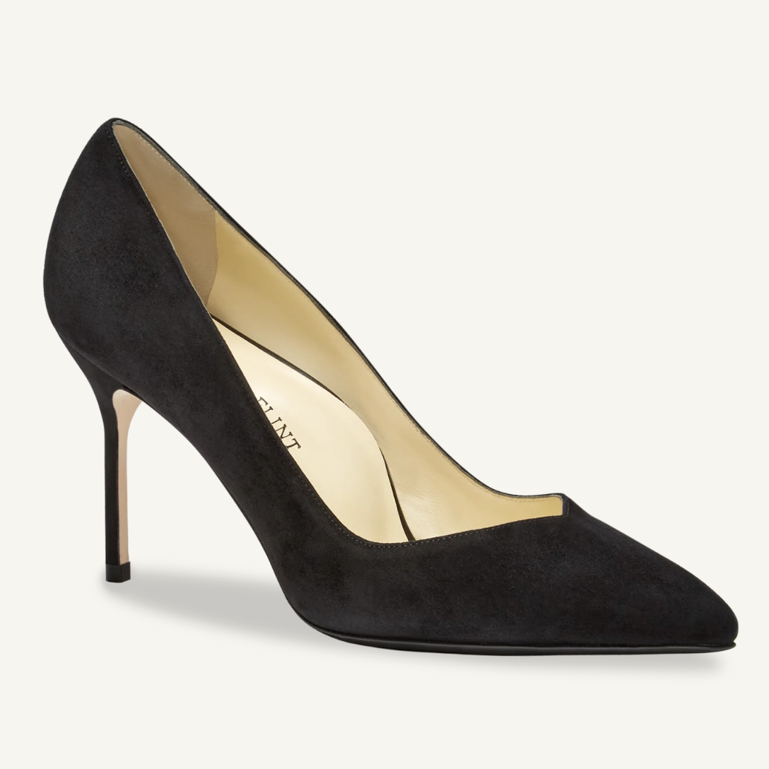 Sarah Flint Black Suede Perfect Pump