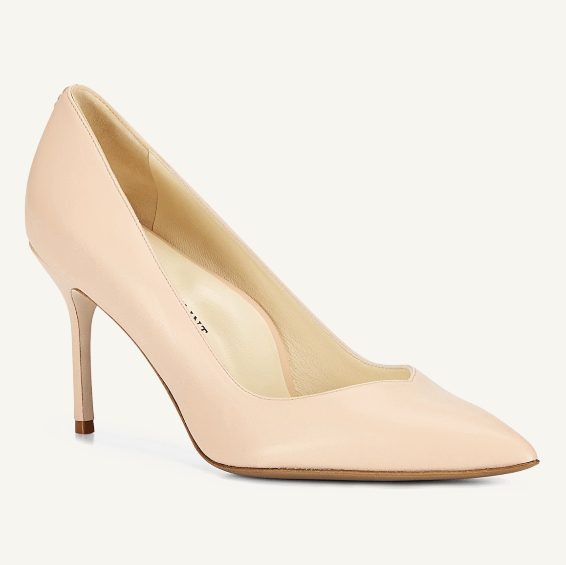 Sarah Flint Perfect Pump Blush Leather
