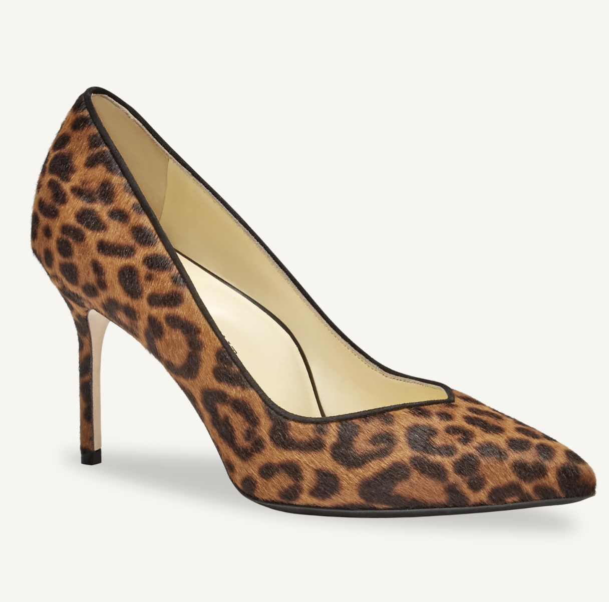 Sarah Flint Perfect Pump Leopard Calfhair
