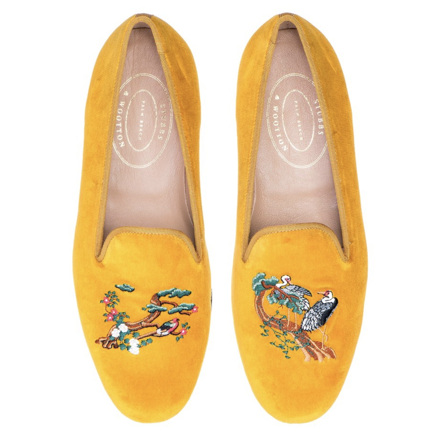 Stubbs and Wootton Chinoiserie Loafers 5