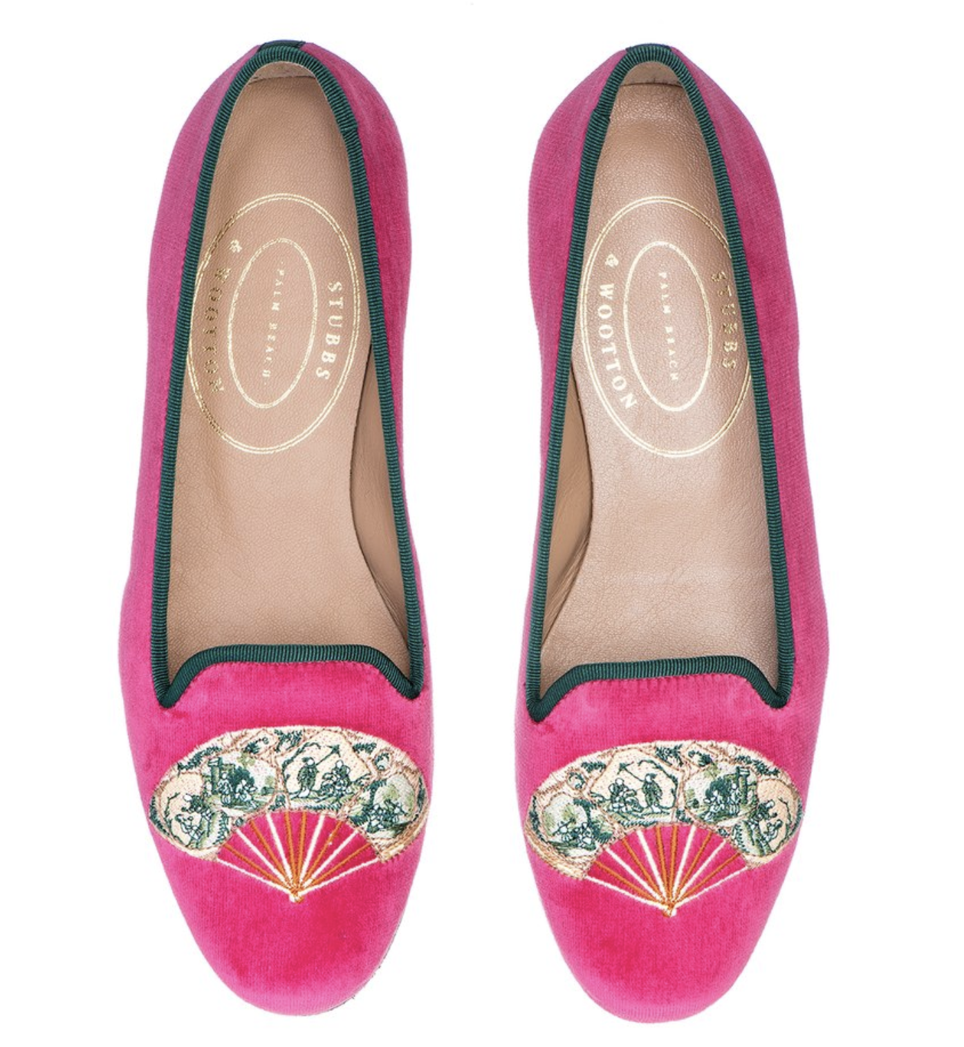 Stubbs and Wootton Chinoiserie Loafers 6