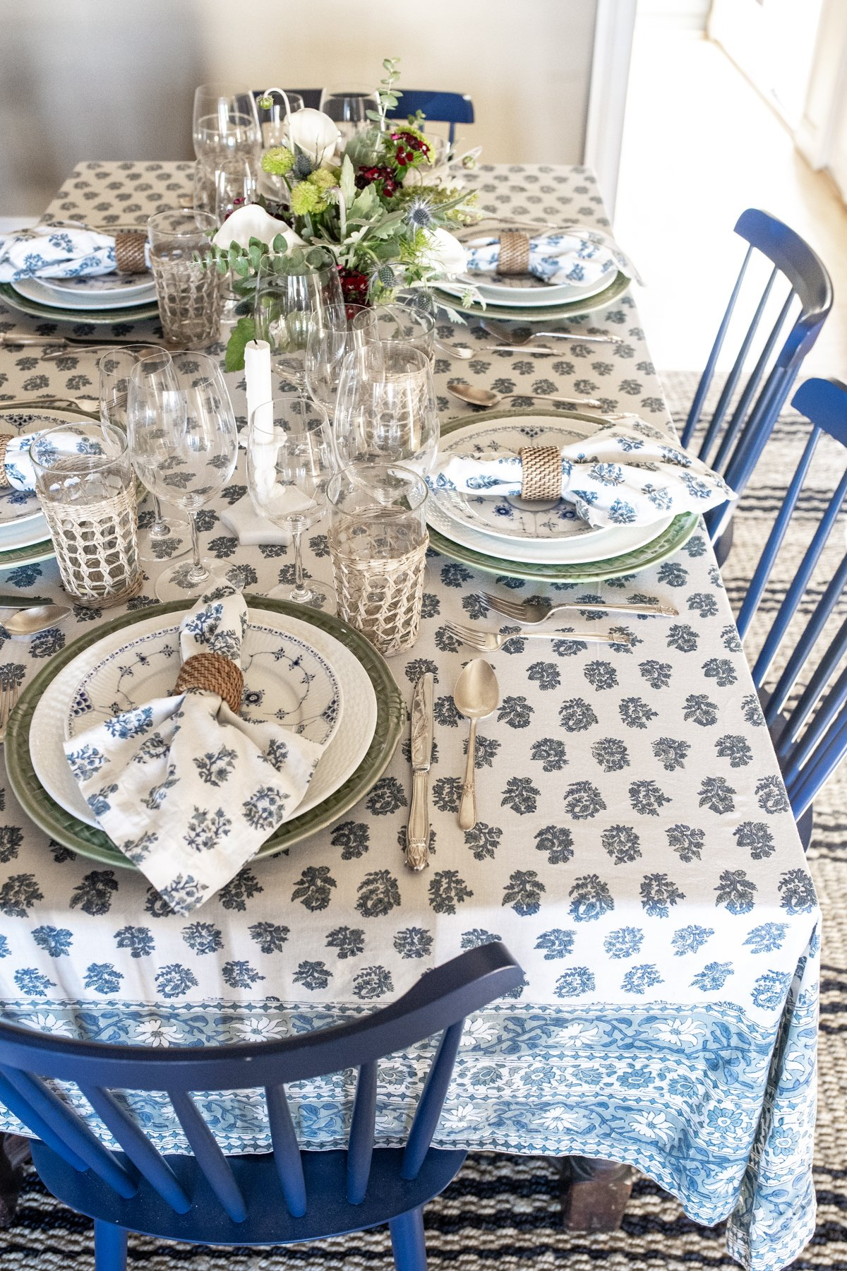 Spring Dinner Party Table x Pottery Barn Cover x Stacie Flinner-1