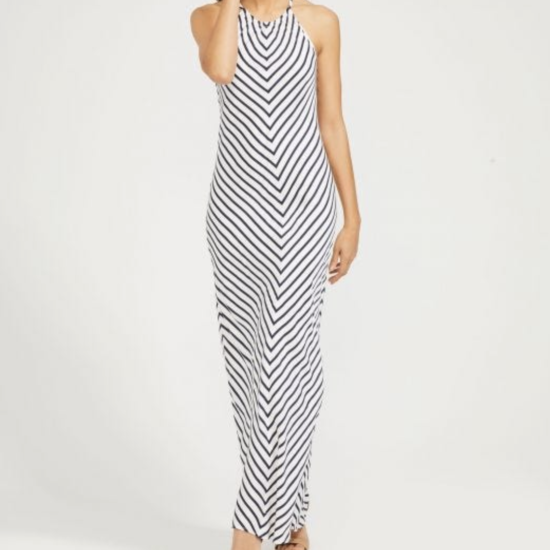 J.McLaughlin Lia Stripe Maxi Dress