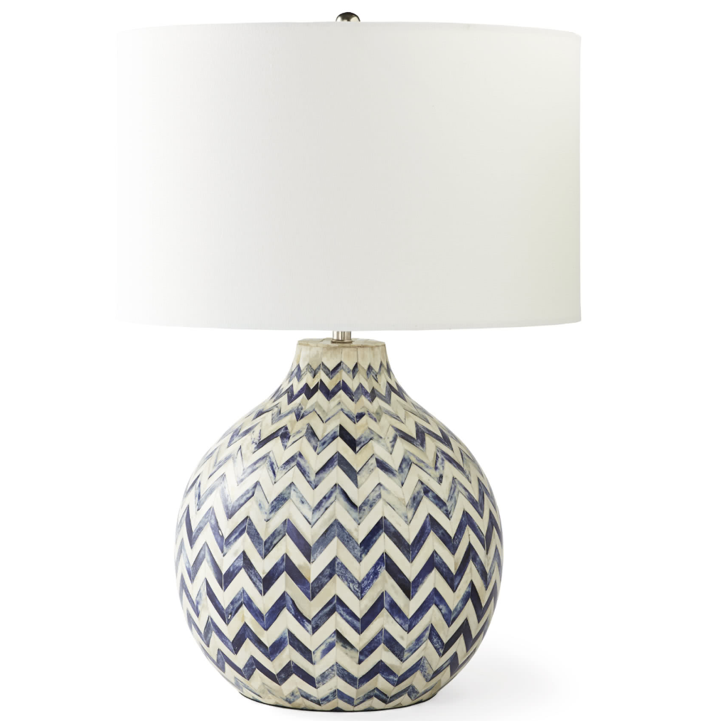 Serena and Lily Westerly Bone Inlay Table Lamp
