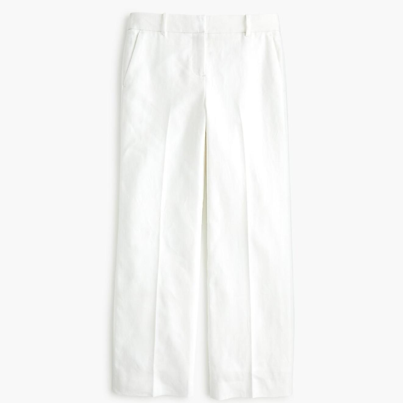 J.Crew Linen Peyton Pants