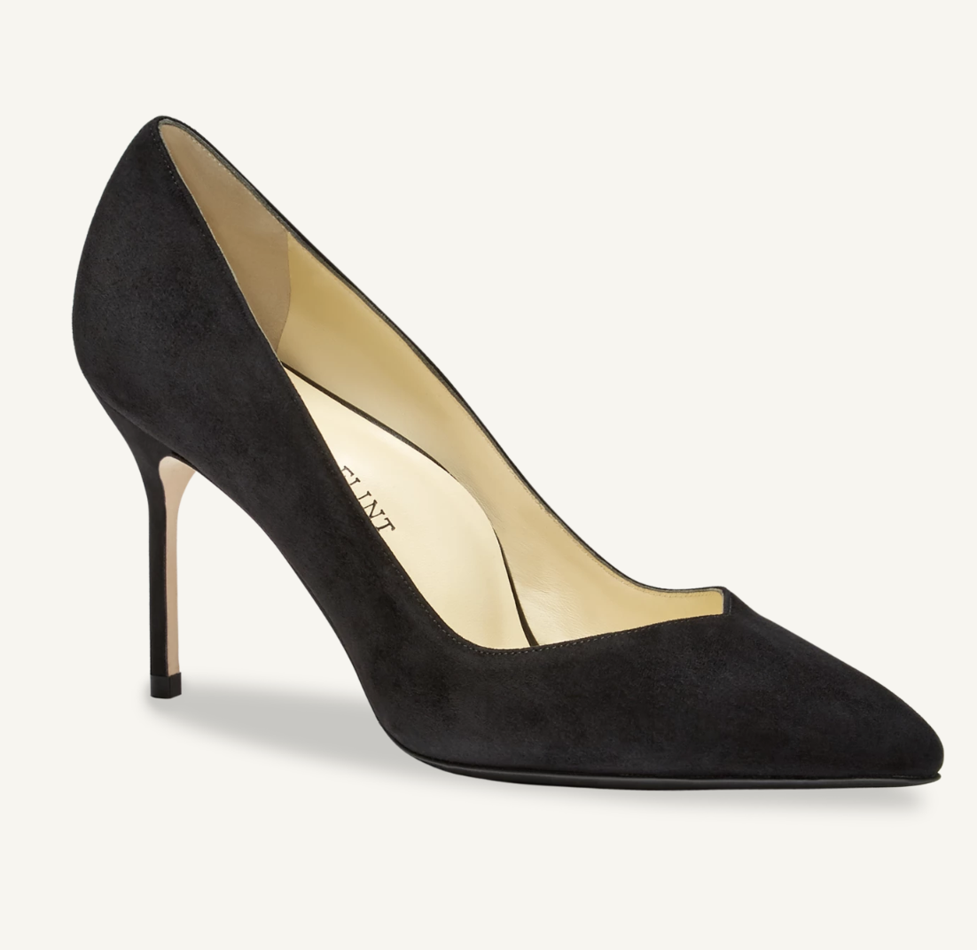 Sarah Flint Perfect Pump Black Suede