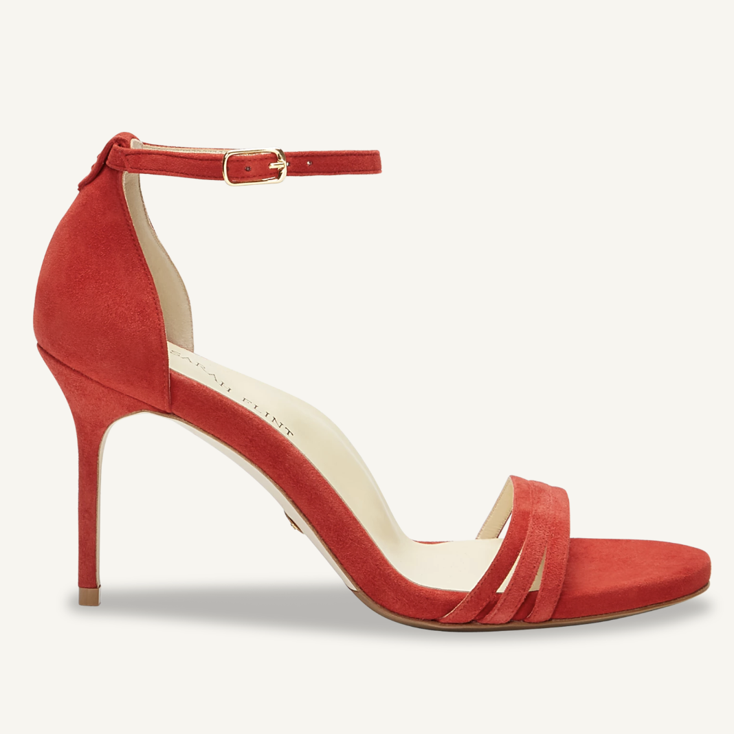 Sarah Flint Perfect Sandal Red x Stacie Flinner