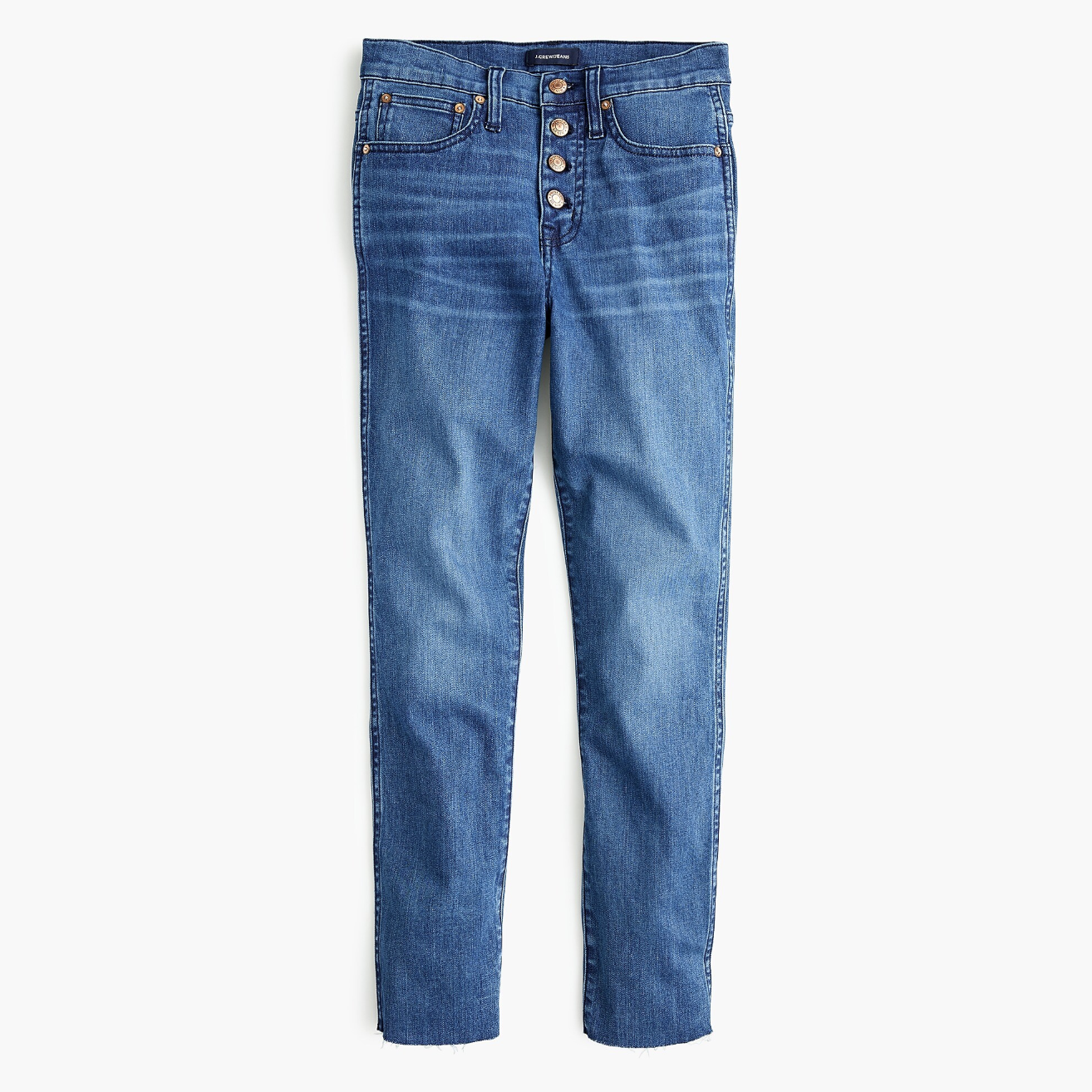 J.Crew Demi-boot Jeans with Button Fly
