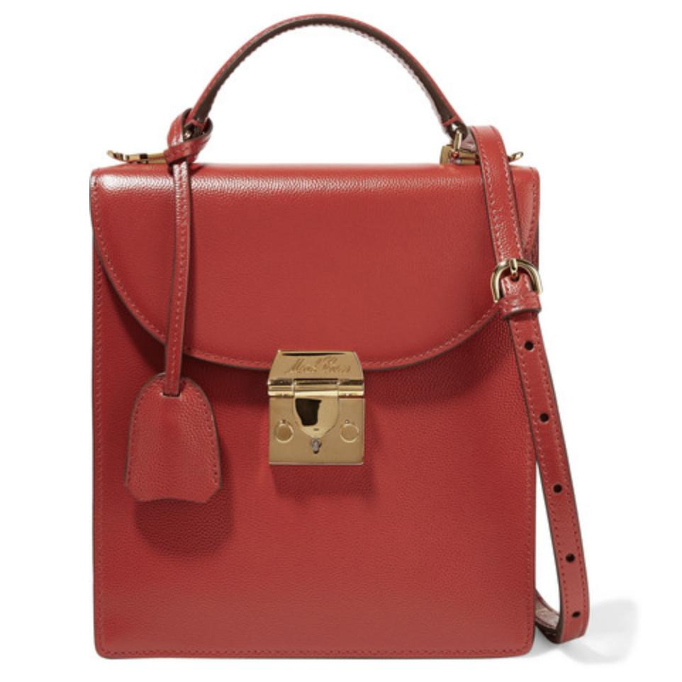 Mark Cross Uptown Bag in Red