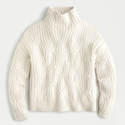 J.Crew Collection Cable Cashmere Sweater