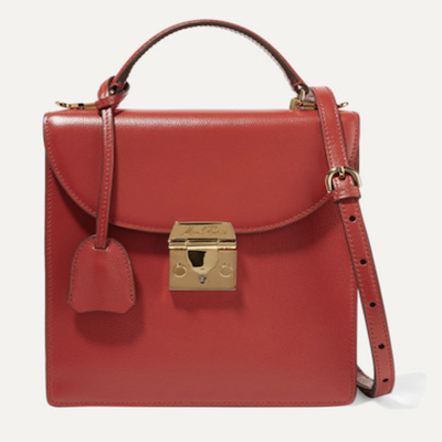 Mark Cross Red Uptown Bag