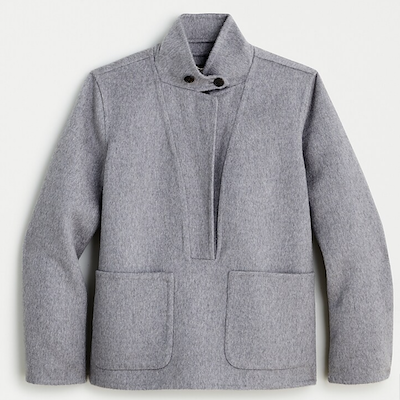 J.Crew Collection Cashmere Popover Jacket