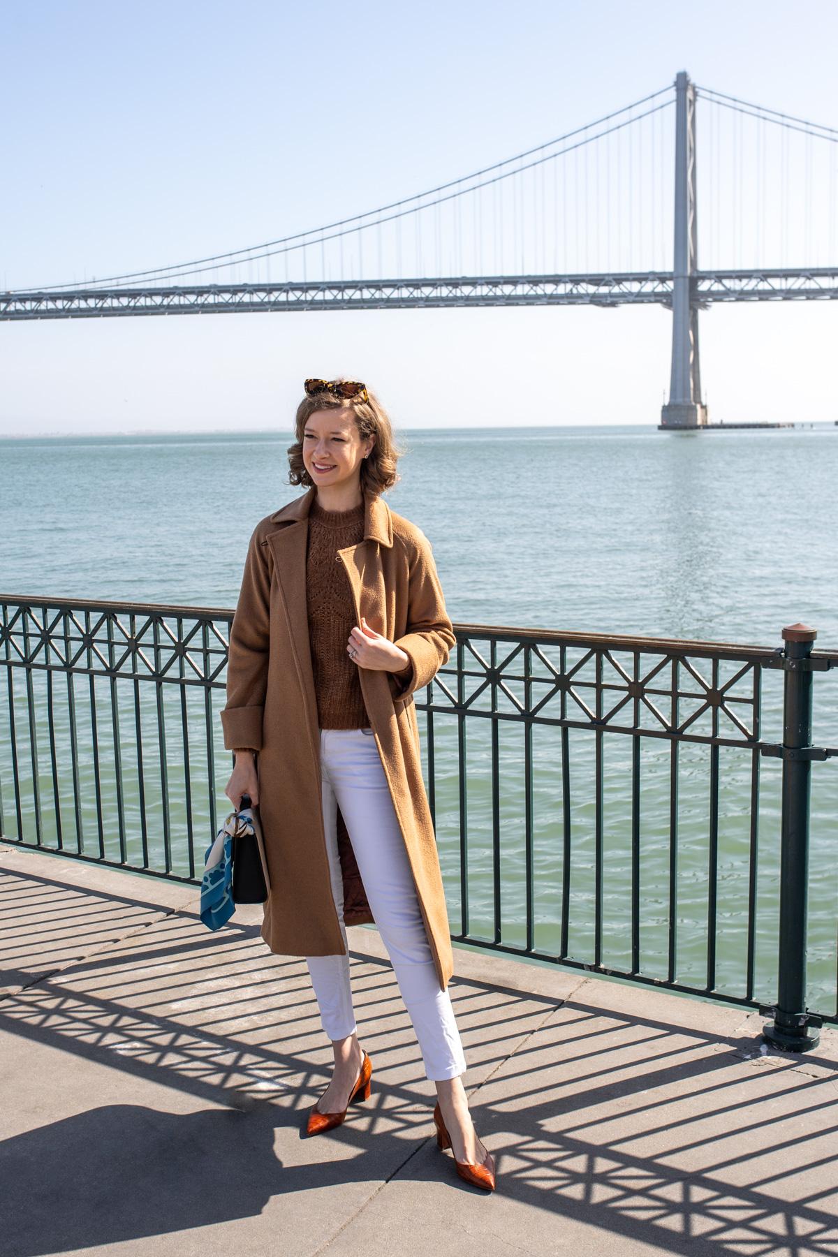 Stacie Flinner Sezane Sweater Camel Outfit -1.jpg