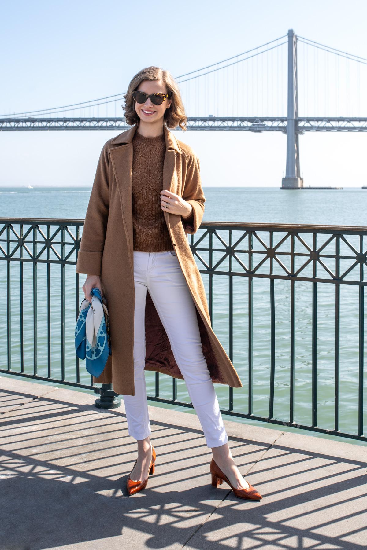 Stacie Flinner Sezane Sweater Camel Outfit -3.jpg