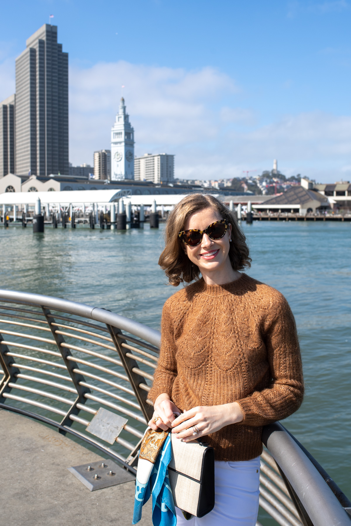Stacie Flinner Sezane Sweater Camel Outfit -4.jpg