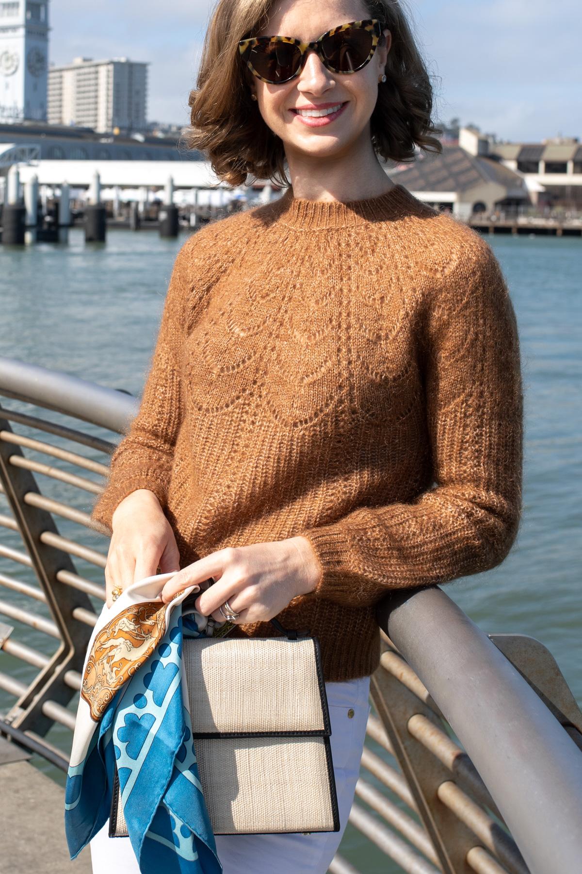 Stacie Flinner Sezane Sweater Camel Outfit -5.jpg