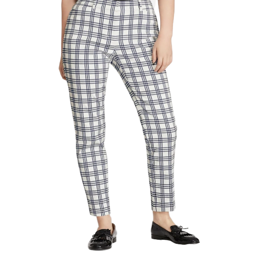Brooks Brothers Plaid Cropped Trouser