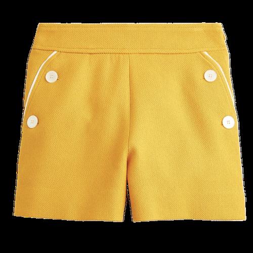 J.Crew Yellow Sailor Shorts