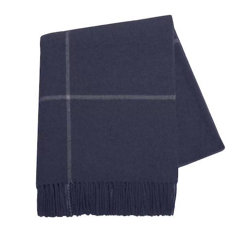 Navy Blanket