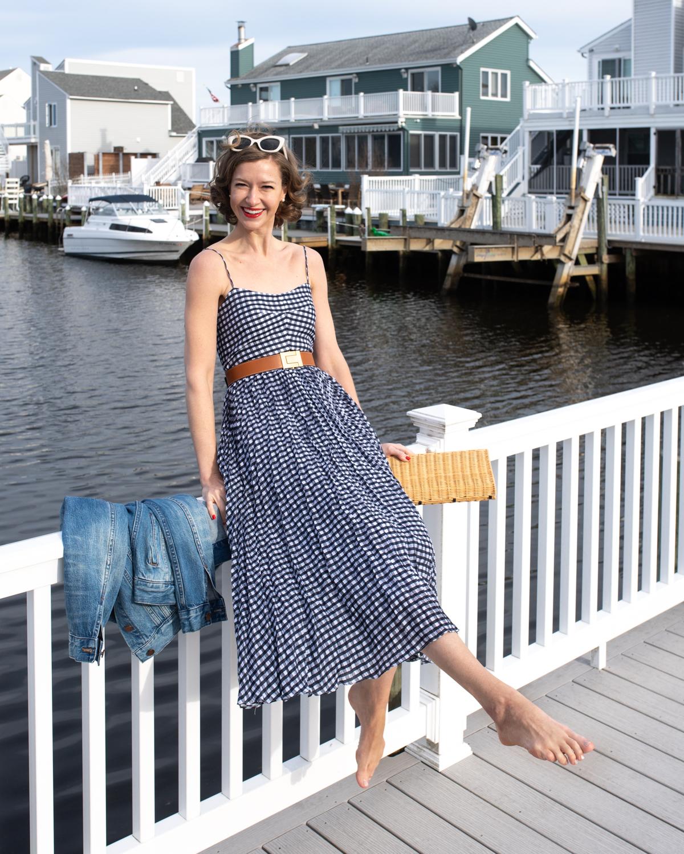 J.Crew Gingham Dress