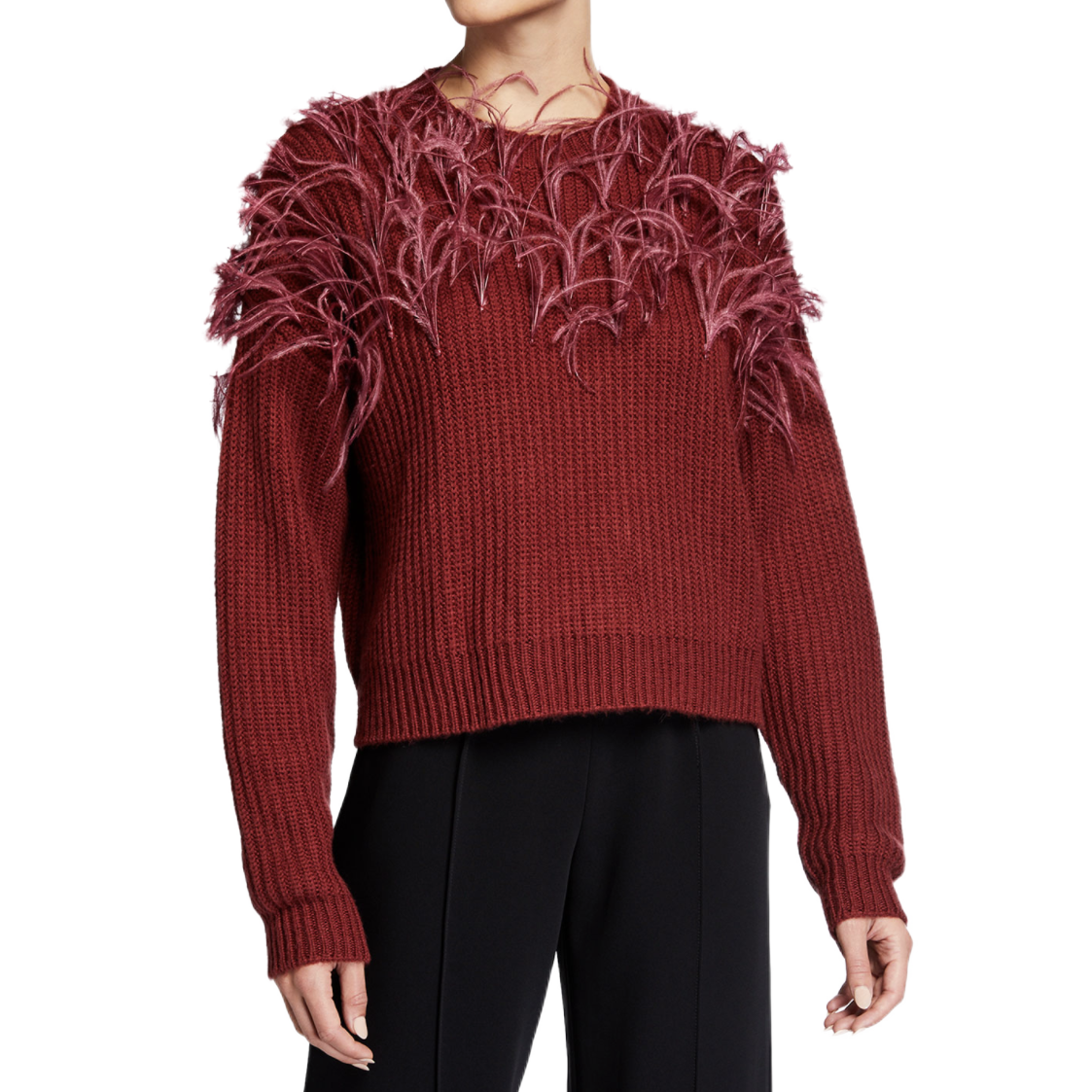 Cinq a Sept Feather Sweater
