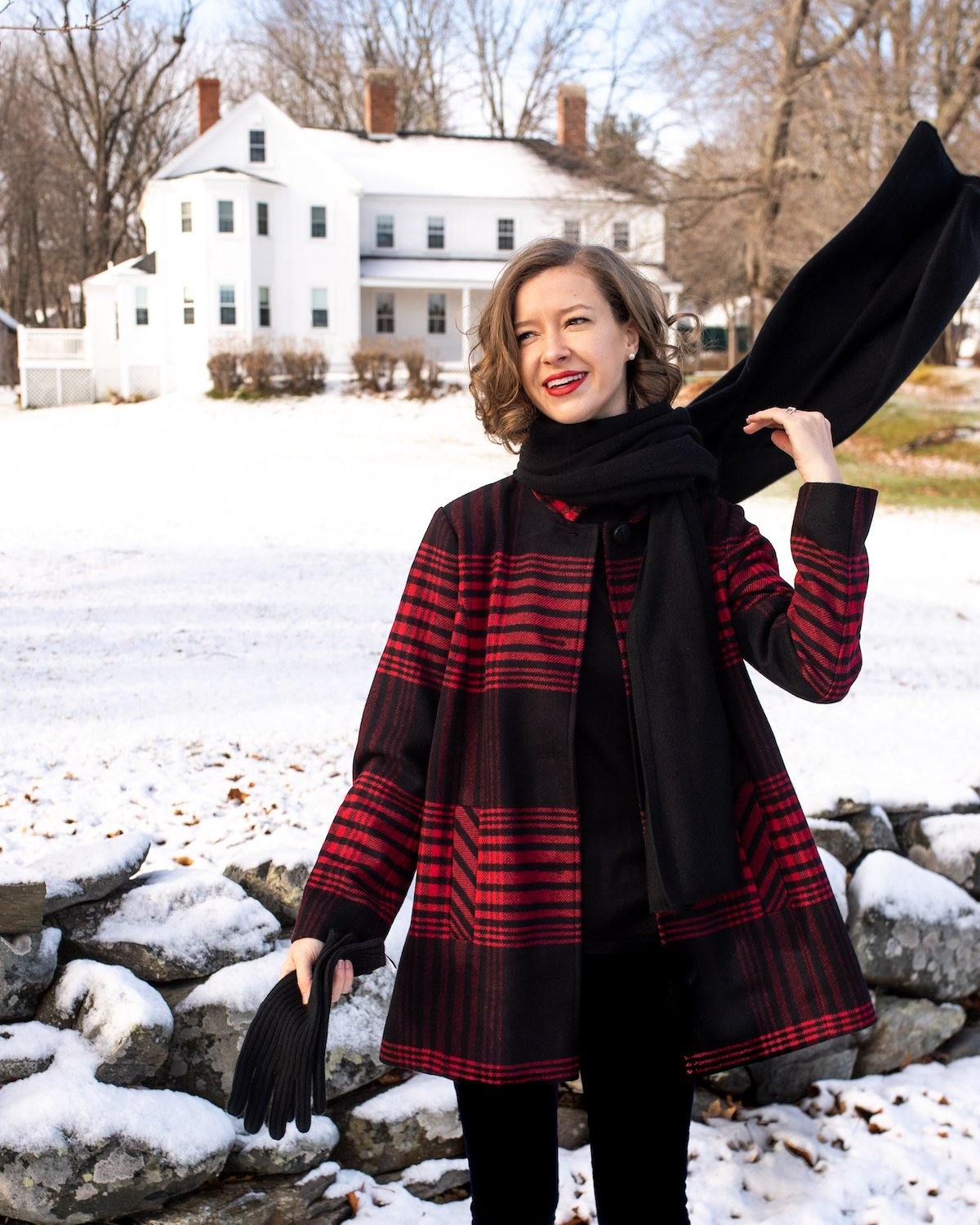 Stacie Flinner J.Jill Plaid Coat.jpg