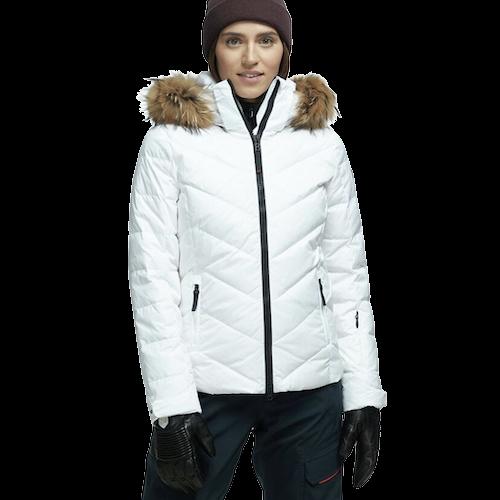 Bogner White Puffer Jacket