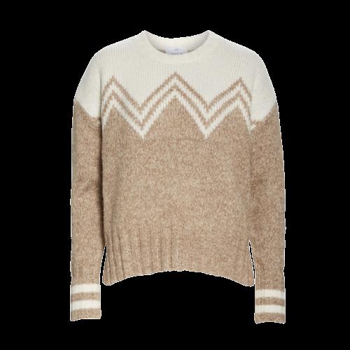 Camel Fair Isle Sweater